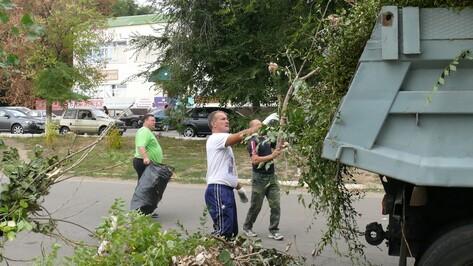 Верхнемамонцы приняли участие во Всероссийском экологическом субботнике «Зеленая Россия»