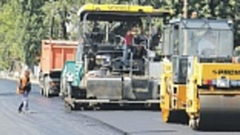 В Боброве заасфальтировали полуторакилометровую улицу
