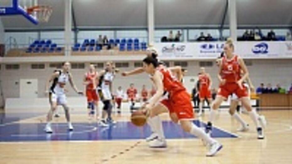 Баскетбольный «Воронеж-СКИФ» нанес два поражения пензенской «Юности»