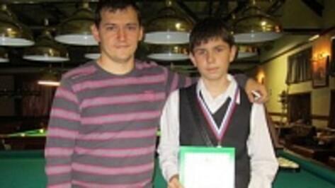 Богучарский спортсмен стал призером регионального первенства по бильярду