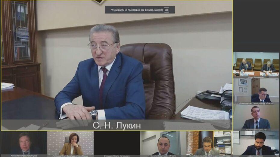 Воронежский сенатор заявил о важности проектного финансирования инженерной инфраструктуры
