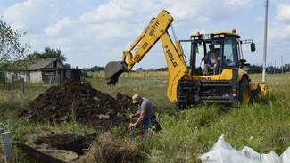 Общественники подгоренского села Лыково заменят около 1 км водопровода