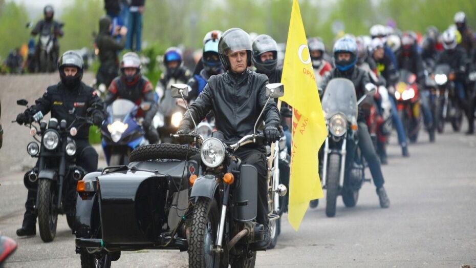Колонна из 3 тыс мотоциклов проедет по Воронежу 11 мая