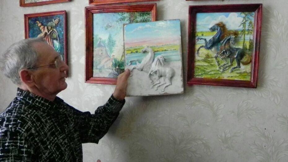 Работы  художника из борисоглебского села получили прописку во Франции и Германии