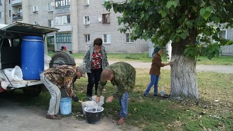В Поворинском районе прошел экологический субботник
