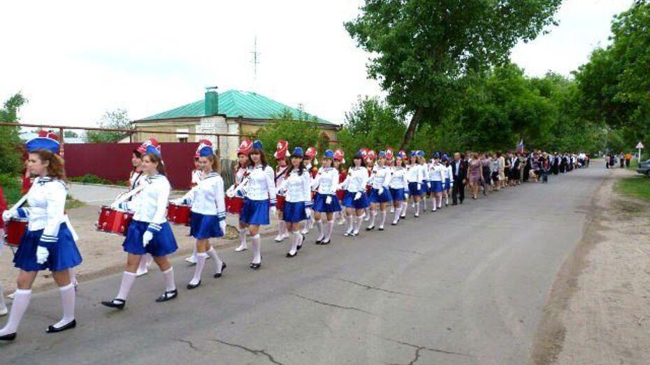 Барабанщицы из Петропавловского района создали церемониальный отряд