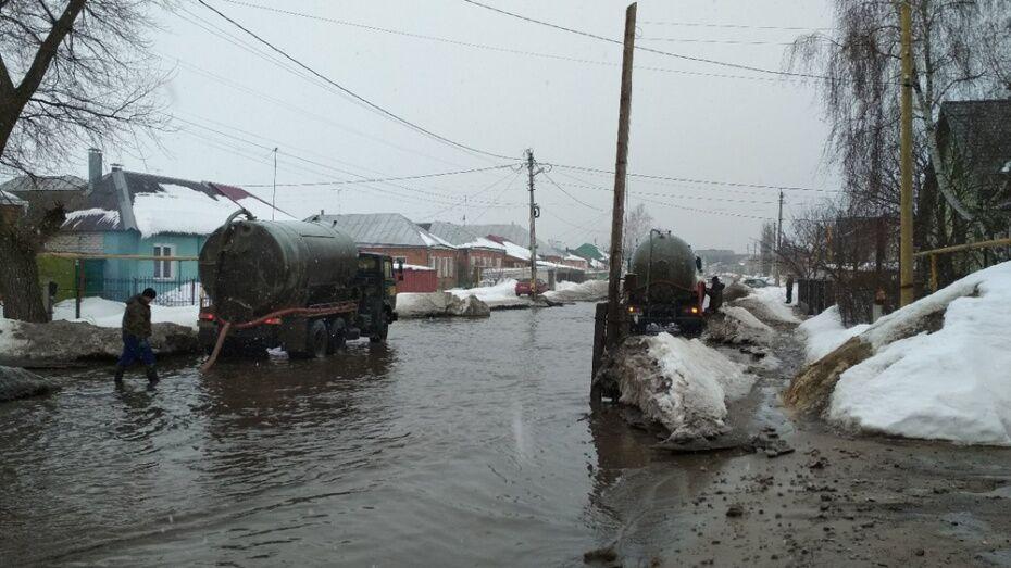 Власти Воронежа утвердили план противопаводковых мероприятий в 2019 году