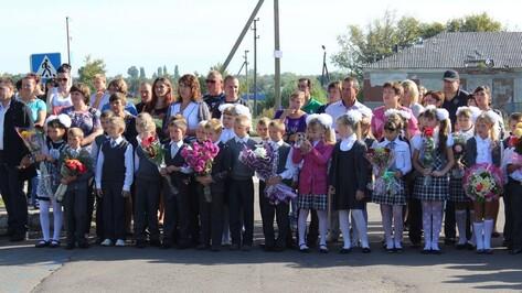 Школьный звонок 1 сентября прозвучал для 3363 таловских ребят