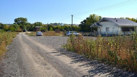 В семилукском селе заасфальтируют 800 метров дороги