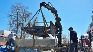 В Борисоглебск привезли памятник Борису и Глебу из Екатеринбурга