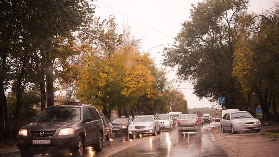 Реконструкция улицы Ломоносова в Воронеже
