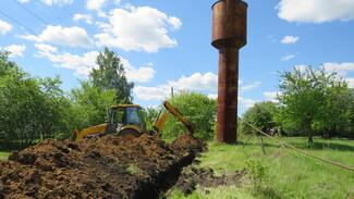 В нижнедевицком селе Андреевка отремонтируют 1,8 км водопровода