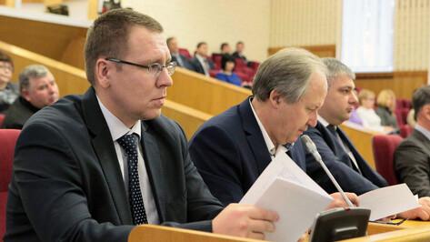 Иван Таратин занял место сенатора Сергея Лукина в Воронежской облдуме
