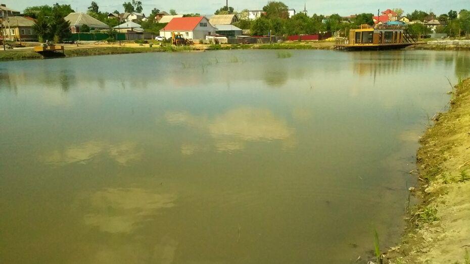 В павловское Тамбовское озеро запустили 1,5 тыс мальков