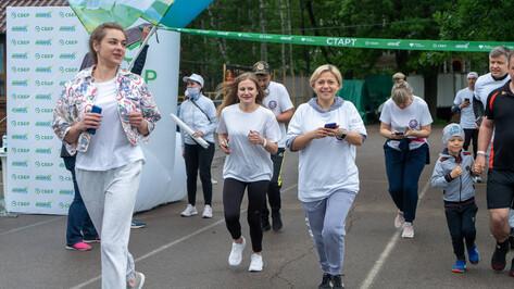 В Зеленом Марафоне Сбера в Черноземье приняли участие почти 6 тысяч человек