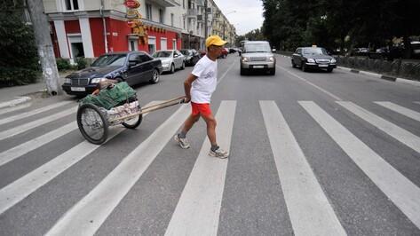 Слепой якут-марафонец ушел от встречи с воронежскими спортсменами