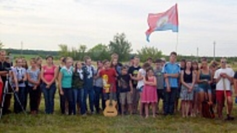 В Таловском районе открылся археологический лагерь