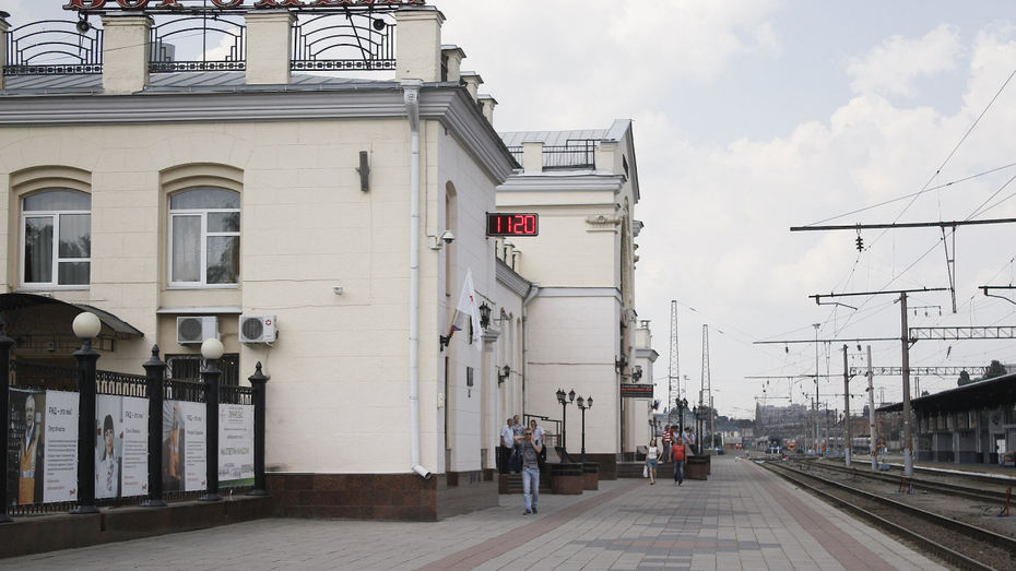 На вокзале Воронеж-1 спасут «пострадавших в аварии» пассажиров электропоезда