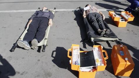 В Воронеже на Курском вокзале пройдут учения медиков и спасателей