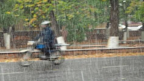 Спасатели объявили штормовое предупреждение в Воронежской области из-за ливней