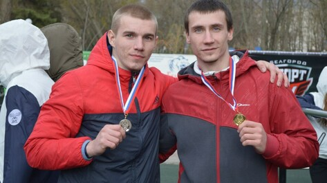 Репьевский студент занял второе место на соревнованиях по воркауту в Белгороде