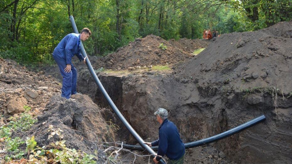 В лискинском селе Троицкое отремонтируют водопровод