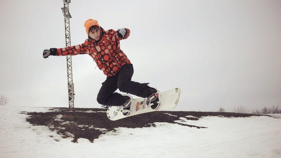 Воронежский сноубордист стал звездой интернета спустя год тренировок