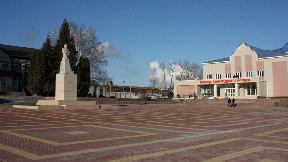 Поселок Хохольский стал лучшим поселением в области за 2015 год