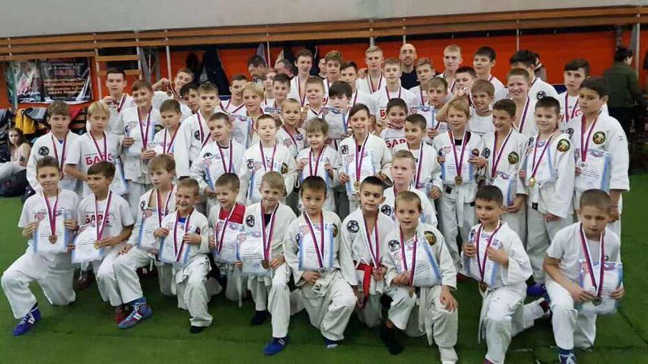 Борисоглебские рукопашники завоевали 24 «золота» на первенстве Воронежа