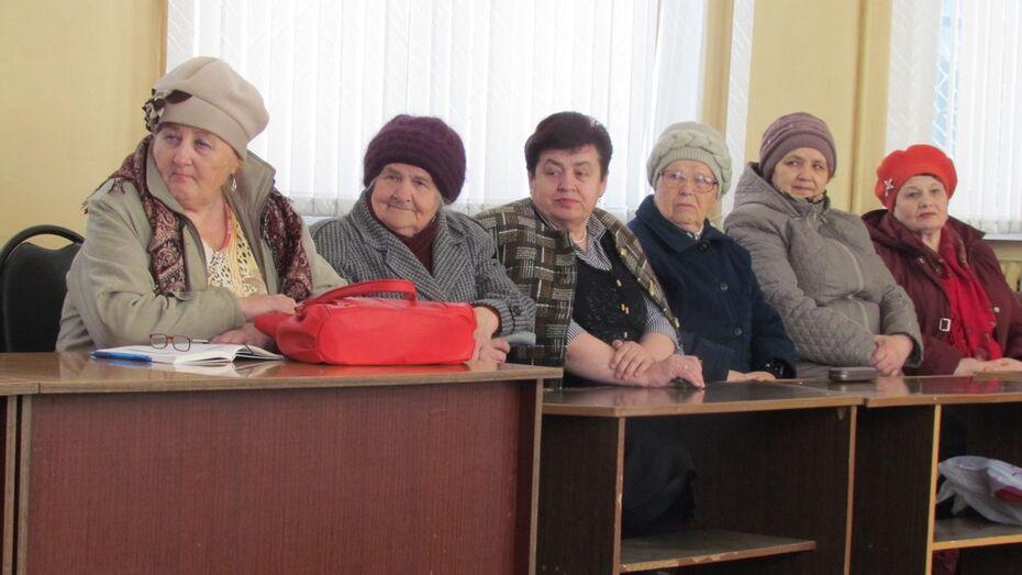 В Нижнедевицком районе открылась Школа безопасности для пенсионеров