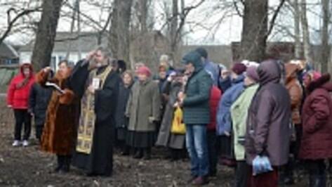 В верхнехавском селе Сухие Гаи начинается строительство новой церкви