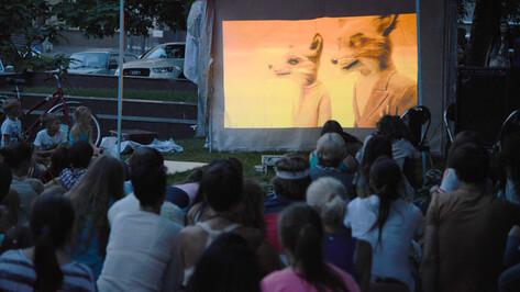 Кинопоказы в Петровском сквере открыл мультфильм «Бесподобный мистер Фокс»