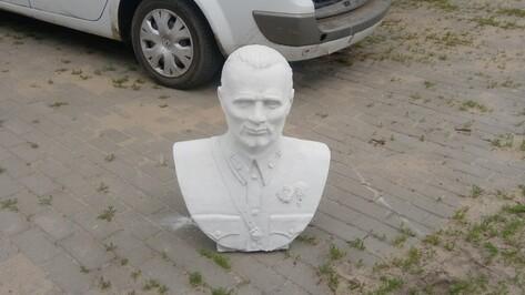 Памятник первому десантнику в воронежском Тенистом откроют в августе