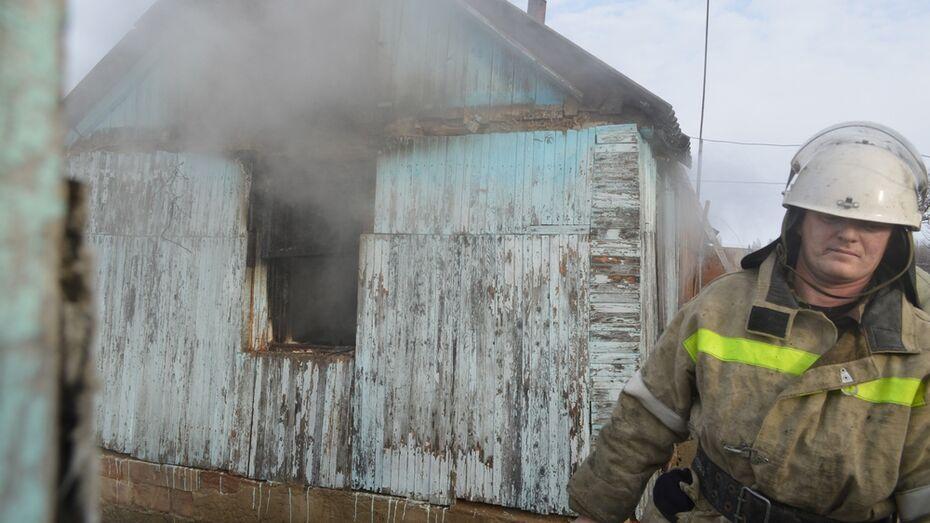 В Подгоренском районе на пожаре погибла 59-летняя женщина