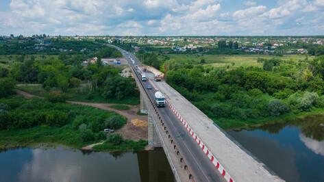 Дорожный департамент рассказал о степени готовности моста через Дон под Воронежем