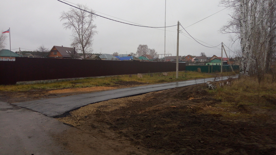 В Новоусманском районе на ремонт дорог местного значения направили более 5,1 млн рублей