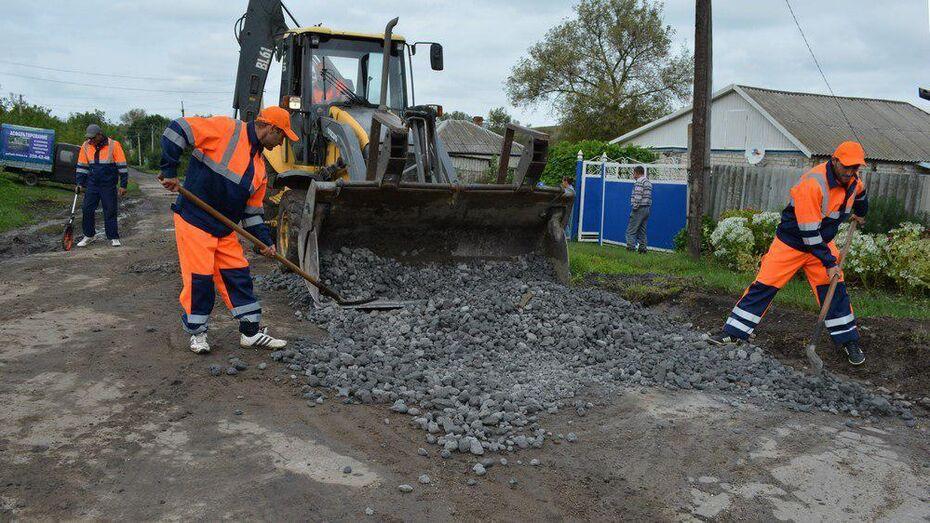 В Нижнедевицком районе на ремонт дорог выделили более 31 млн рублей