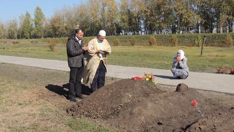 Татарские родные перезахоронили найденного под Воронежем красноармейца