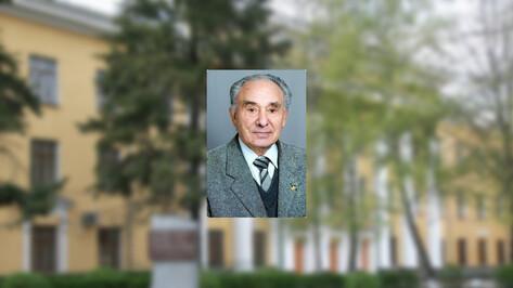 Умер экс-ректор Воронежского медуниверситета Анатолий Фаустов