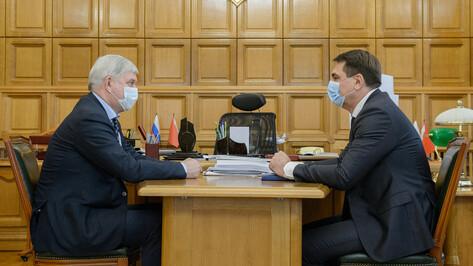Депутат Госдумы рассказал губернатору о проблемах жителей Воронежской области