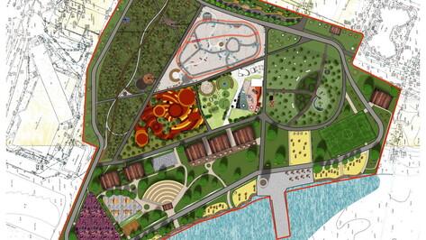 Часть обновленного парка «Дельфин» в Воронеже запланировали открыть к 1 мая