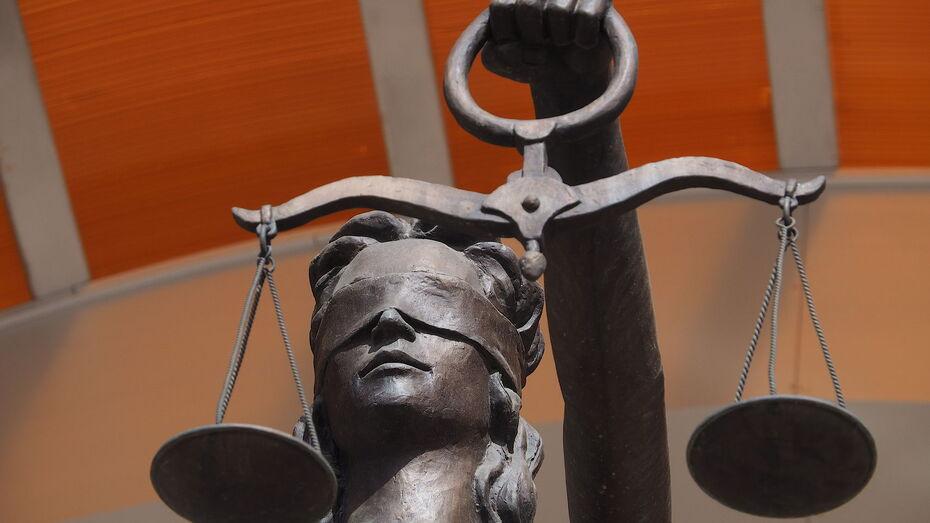 Бывший воронежский адвокат получил 2,5 года колонии за мошенничество на 600 тыс рублей