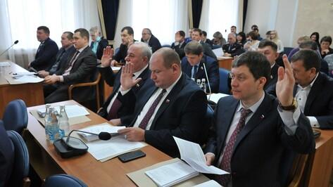 Депутаты утвердили состав комиссии по выборам мэра Воронежа
