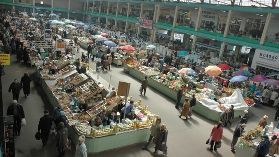 Часть предпринимателей Центрального рынка согласилась на временные места