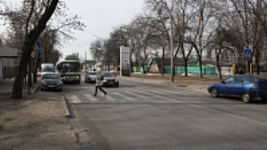 Дорожная среда: улица Краснознаменная