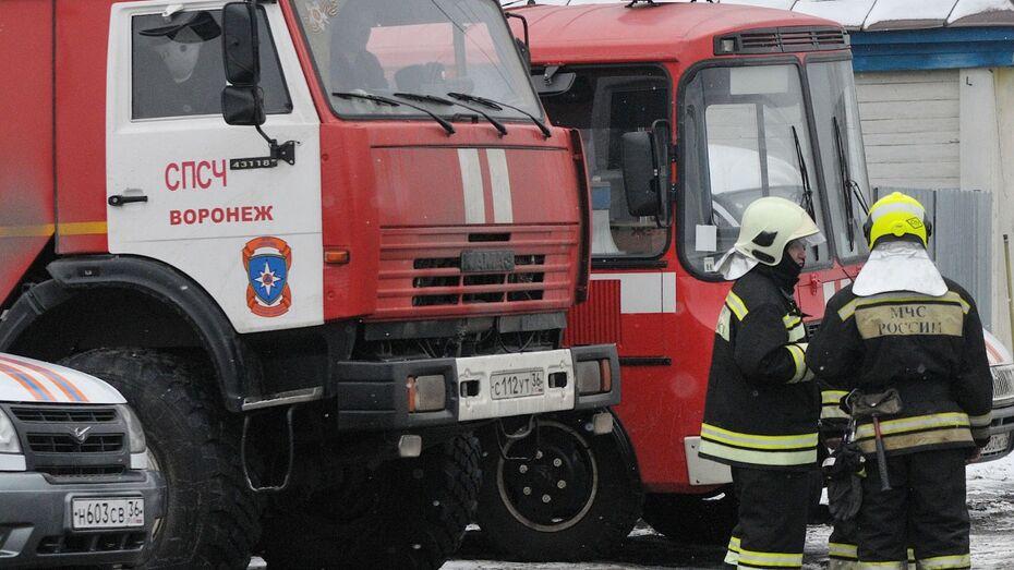 В Воронежской области после пожара госпитализировали пенсионера