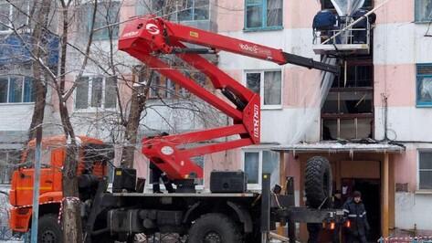 На восстановление поврежденной взрывом воронежской пятиэтажки выделят 20 млн рублей