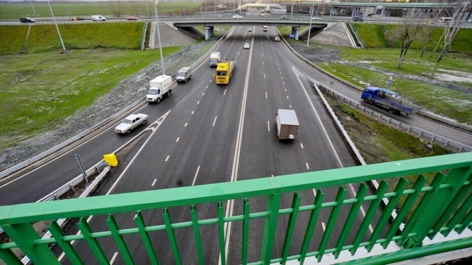 Микроавтобус насмерть сбил женщину на трассе М4 в Воронежской области