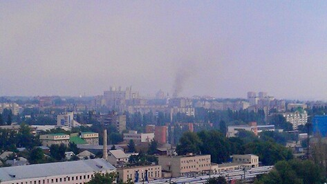 В Воронеже на проспекте Труда горела квартира на 12 этаже