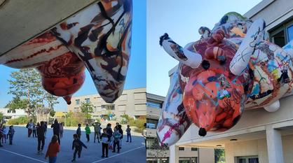 Воронежский художник «заполонил» своим искусством улицы Швейцарии